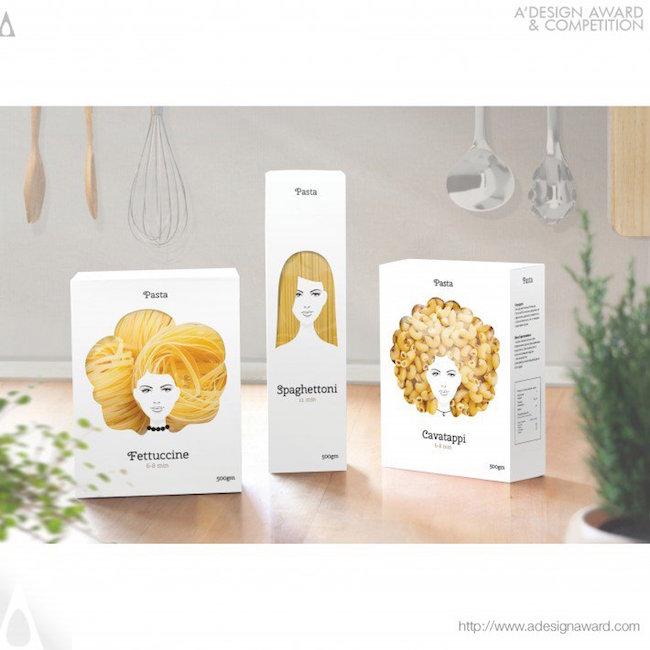 A' Design Award Winners - Pasta Nikita Packaging