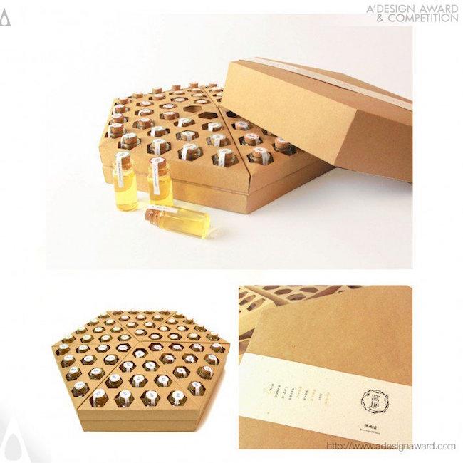 A' Design Award Winners - 'Funny Honey' Packaging Design