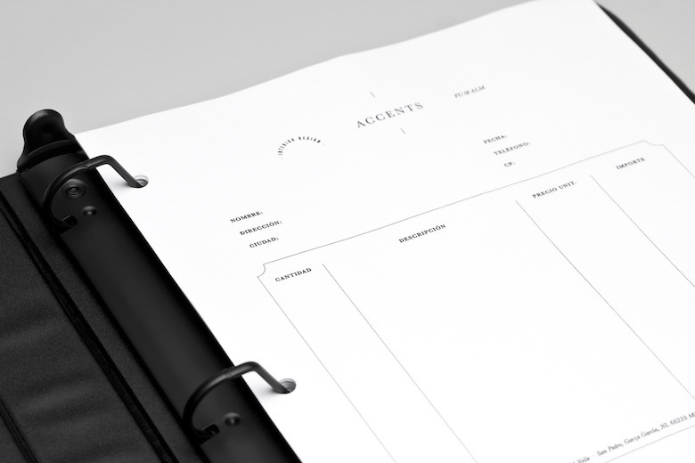 Creative invoice bill designs to impress clients - 13
