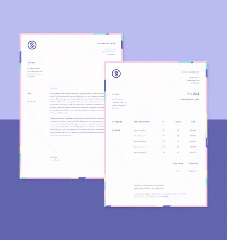 Creative invoice bill designs to impress clients - 6