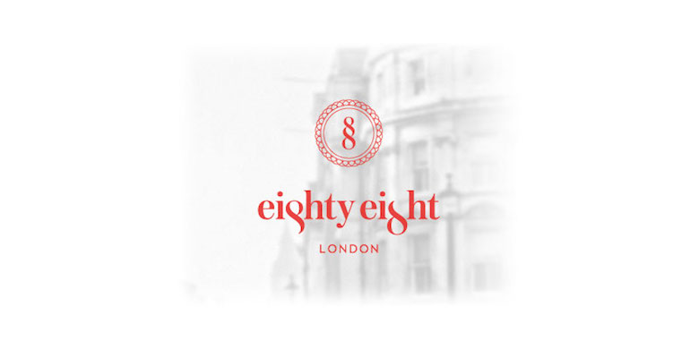 Creative Minimal Logos For Design Inspiration - Eighty-Eight Hotel