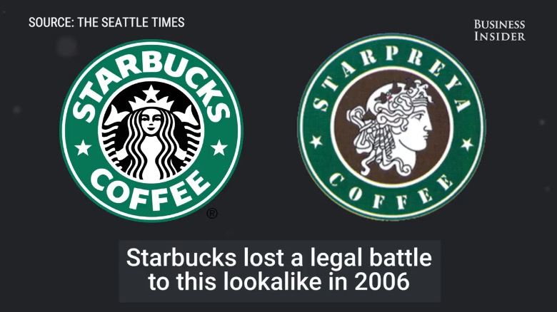 Famous logos that look similar: Starbucks & Starpreya