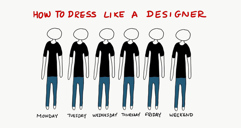 Funny Digital Synopsis - Funny illustrations show the love hate relationship between designers