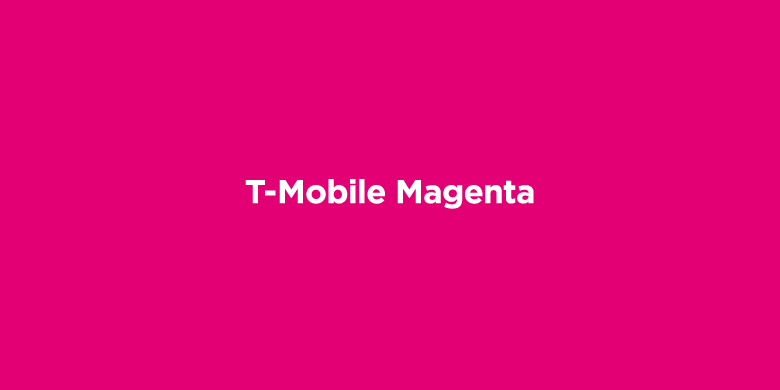 Trademarked Colors - T-Mobile Magenta