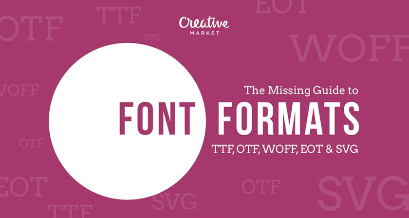 A Useful Guide To Different Font Formats That Every Designer