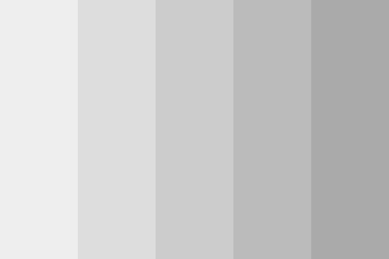 Grey Color Shades Combinations Palettes Schemes