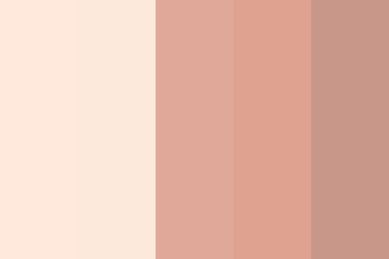 Beautiful color palettes, combinations and schemes - Anime Skin Tones