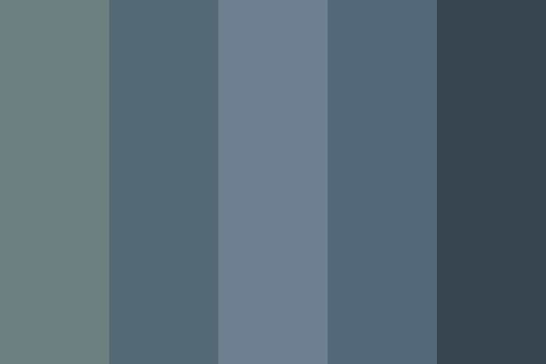 Beautiful color palettes, combinations and schemes - Blue Grey