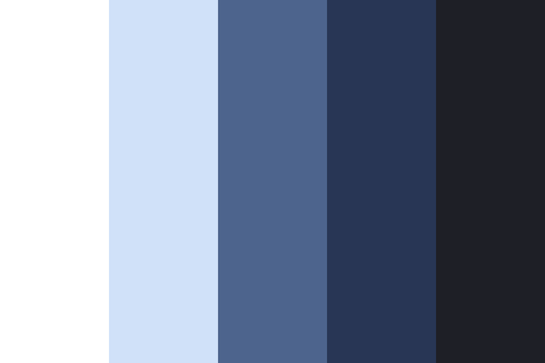 Beautiful color palettes, combinations and schemes - Blueberry Basket