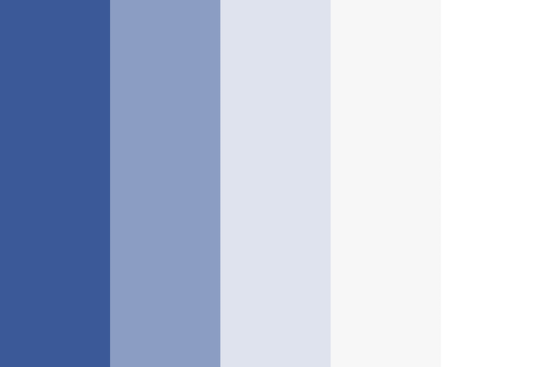 Facebook Color Shades Combinations Palettes Schemes