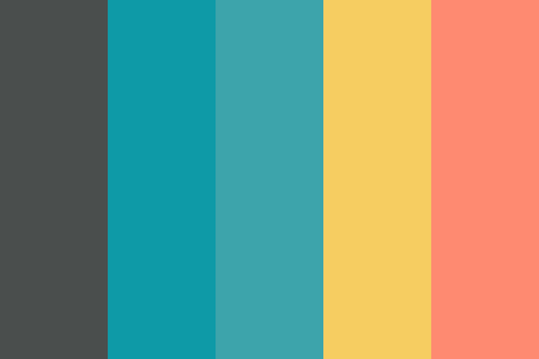 Beautiful color palettes, combinations and schemes - Moonlight Bytes 6