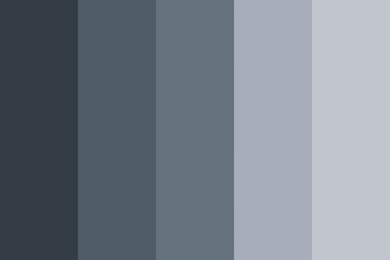 Beautiful color palettes, combinations and schemes - Space Gray