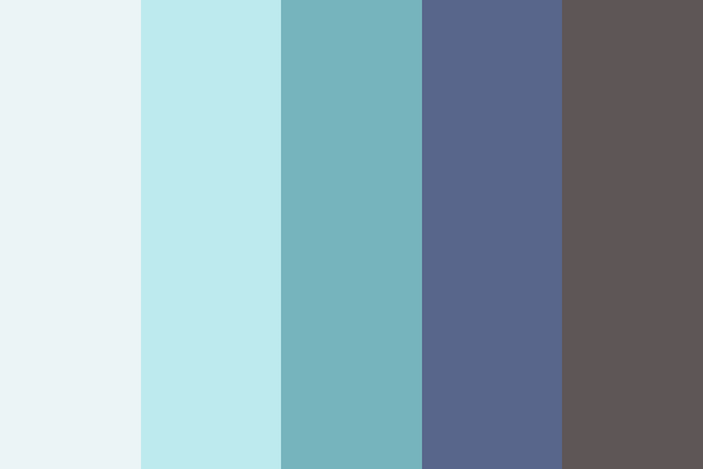 Beautiful color palettes, combinations and schemes - The Water Bearer