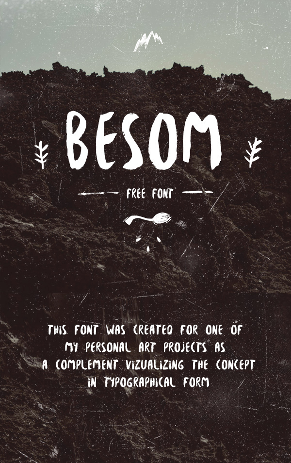 Beautiful, creative free fonts for designers - Besom