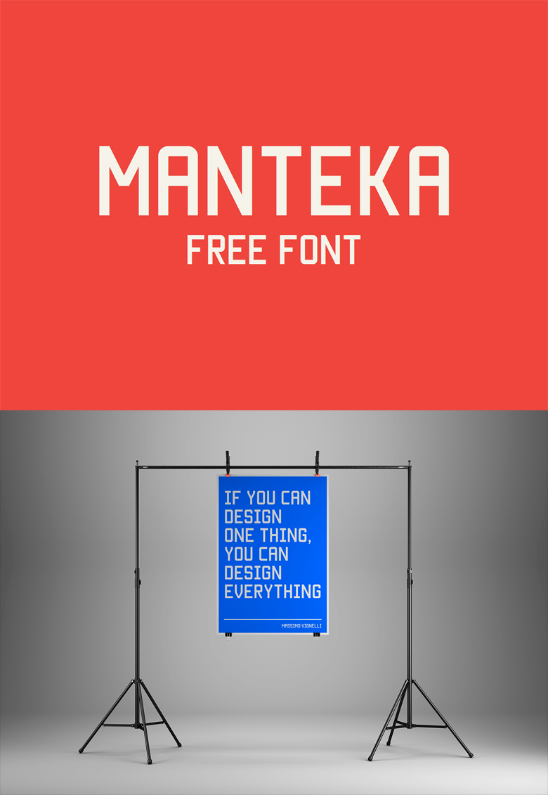 Beautiful, creative free fonts for designers - Manteka