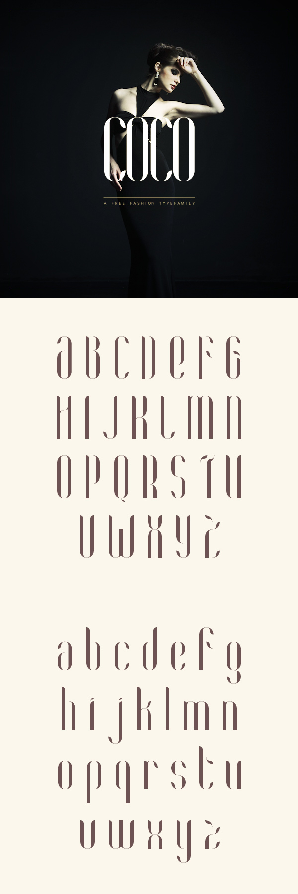 Beautiful, creative free fonts for designers - Coco
