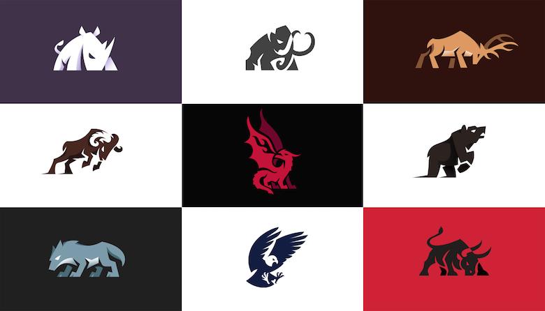 Charging Animal Logos - All