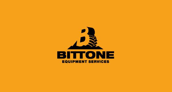 Creative single-letter logo designs - Bittone