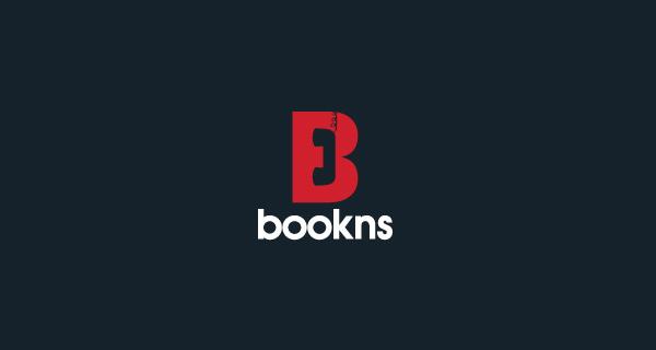 Creative single-letter logo designs - Bookns