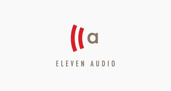 Creative single-letter logo designs - Eleven Audio