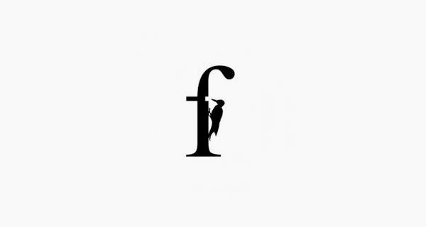 Creative single-letter logo designs - Forestal
