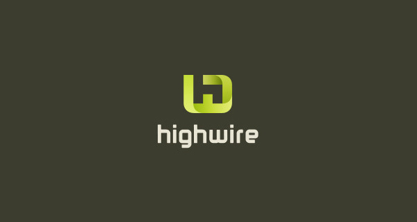Creative single-letter logo designs - Highwire