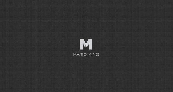 Creative single-letter logo designs - Mario King