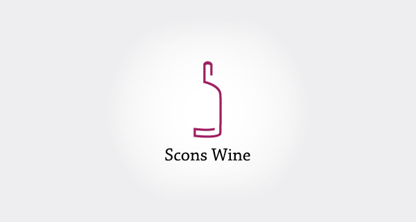Creative single-letter logo designs - Scons Wine