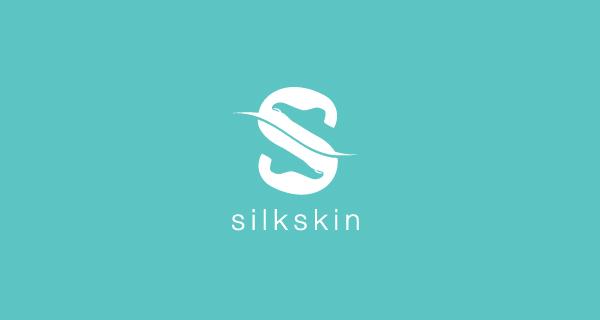 Creative single-letter logo designs - Silk Skin