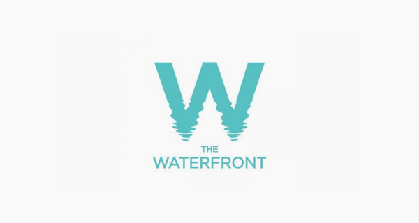 Creative single-letter logo designs - The Waterfront