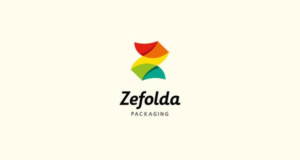 Creative single-letter logo designs - Zefolda Packaging