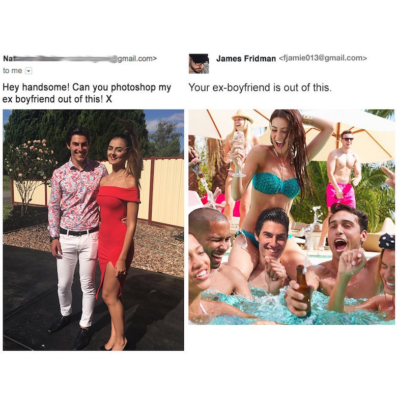 Funny Photoshop pictures, trolls, requests, edits by James Fridman - 14