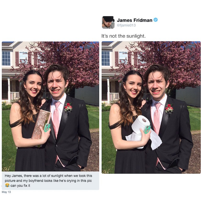 Funny Photoshop pictures, trolls, requests, edits by James Fridman - 15