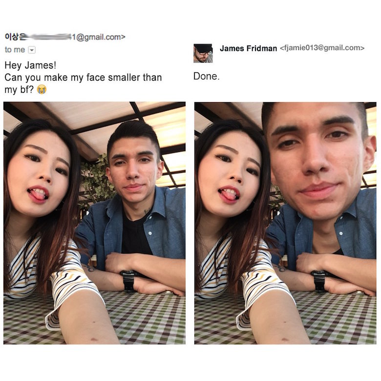 Funny Photoshop pictures, trolls, requests, edits by James Fridman - 16