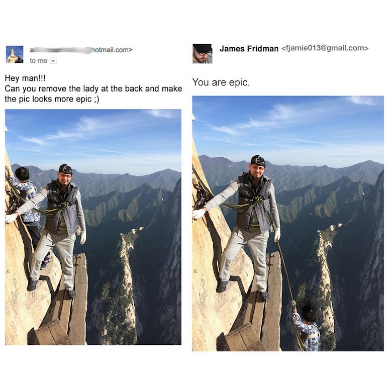 Funny Photoshop pictures, trolls, requests, edits by James Fridman - 18