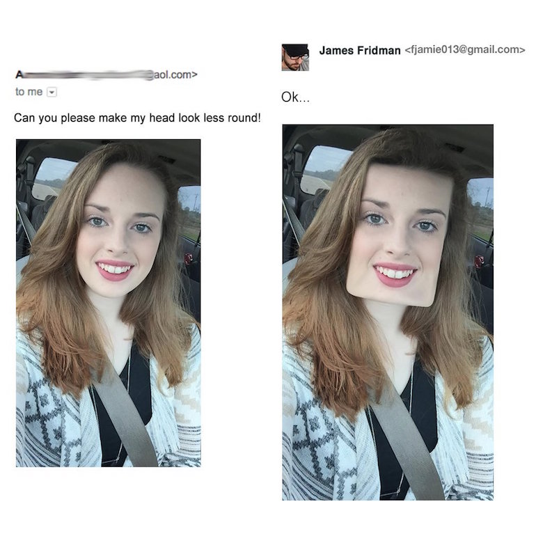Funny Photoshop pictures, trolls, requests, edits by James Fridman - 4