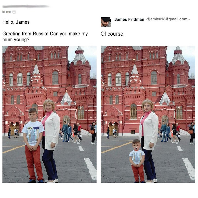 Funny Photoshop pictures, trolls, requests, edits by James Fridman - 5