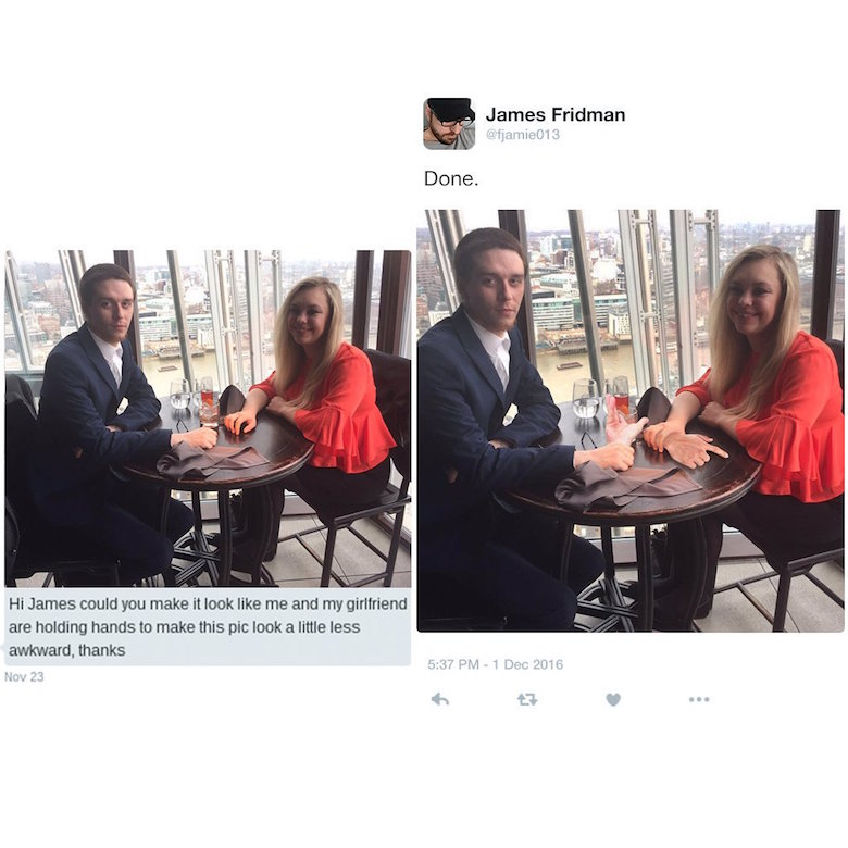 Funny Photoshop pictures, trolls, requests, edits by James Fridman - 8