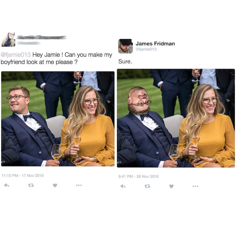 Funny Photoshop pictures, trolls, requests, edits by James Fridman - 9