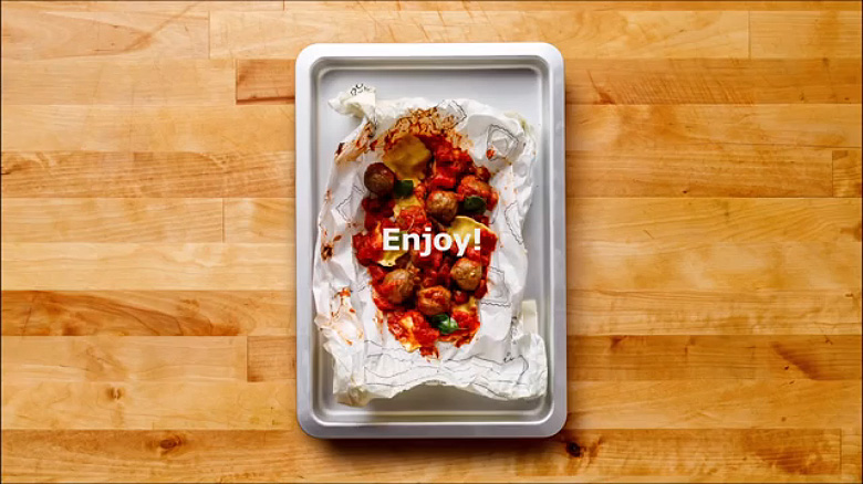IKEA 'Cook This Paper' Recipe Series - 10