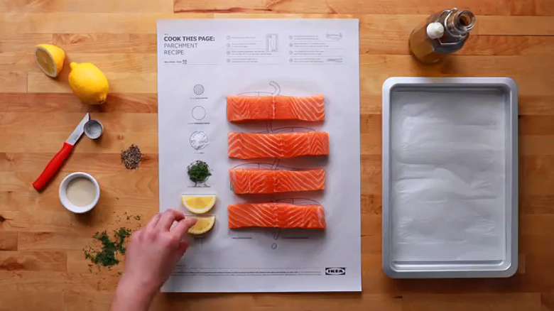 IKEA 'Cook This Paper' Recipe Series - 4