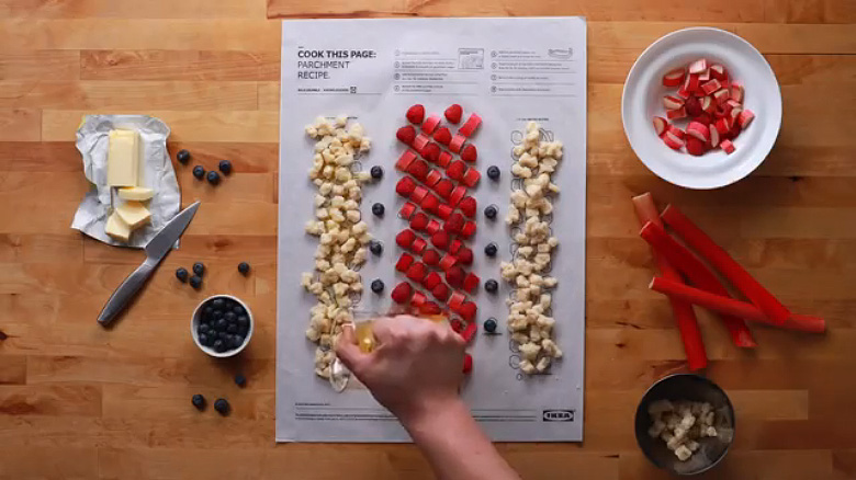 IKEA 'Cook This Paper' Recipe Series - 5