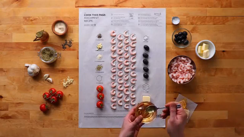 IKEA 'Cook This Paper' Recipe Series - 6