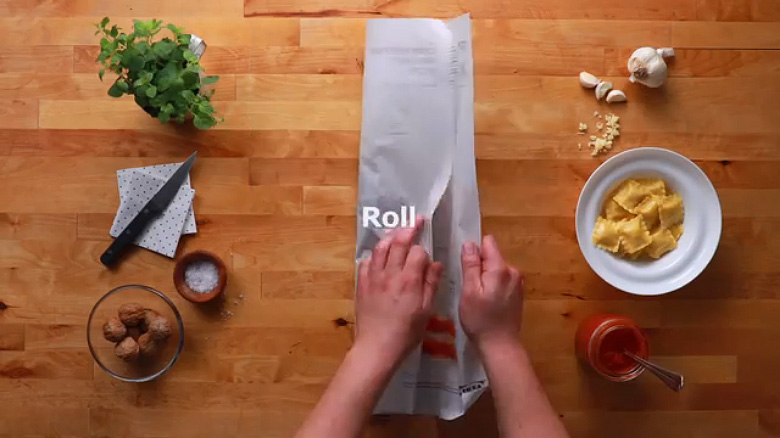 IKEA 'Cook This Paper' Recipe Series - 8