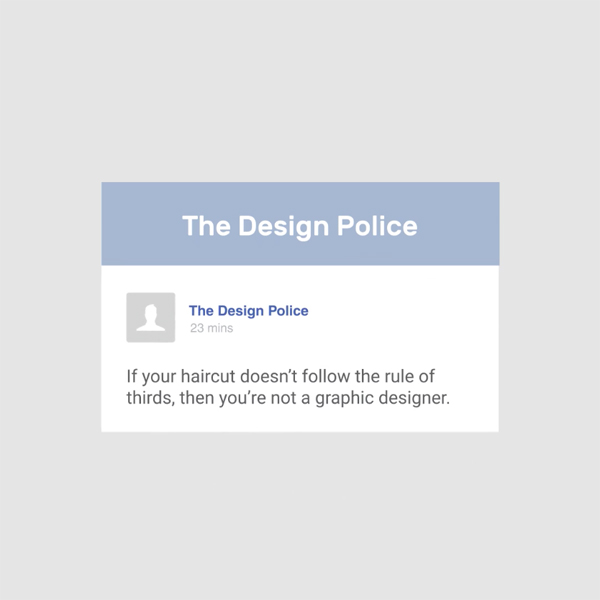 Different types of graphic designers on social media - The Design Police