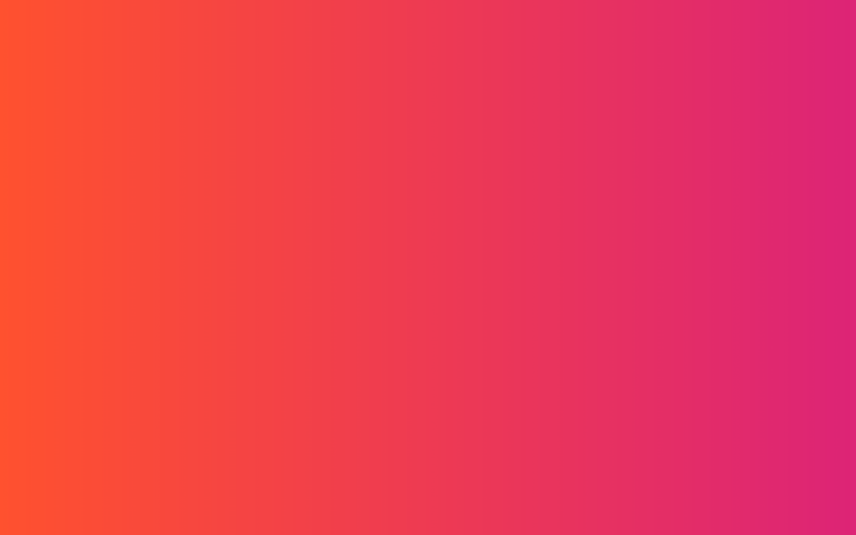 Orange, Red & Pink color gradient, shades, background