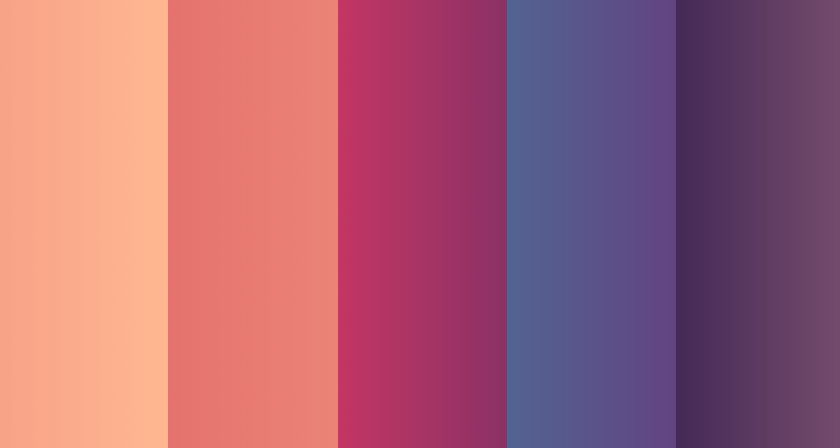 36 Beautiful Color Gradients For Your Next Design Project