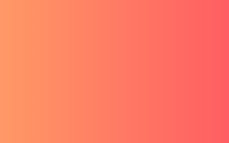 Beautiful color gradients for graphic, web & UI design - Orange Coral