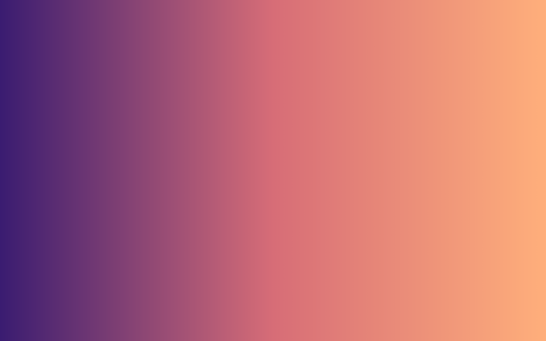 Blue & Orange color gradient, shades, background