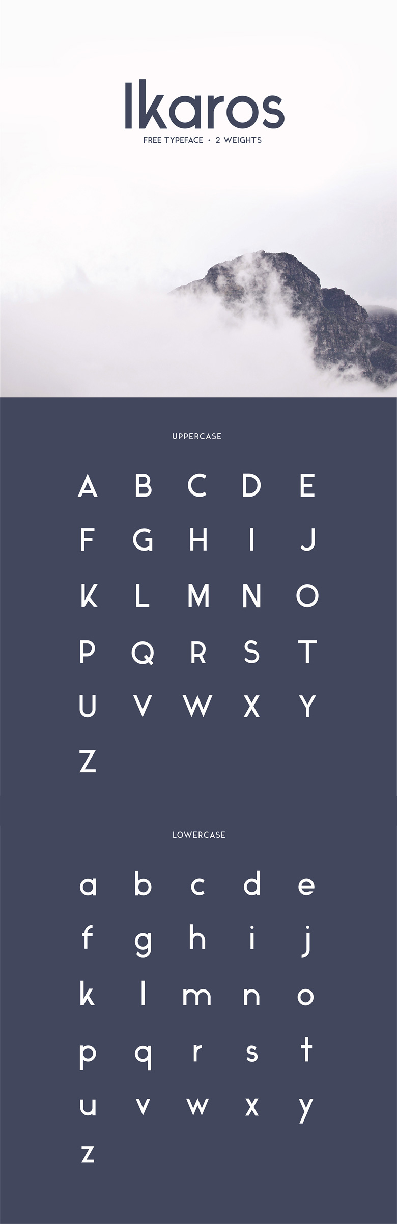 Beautiful free fonts for designers - Ikaros
